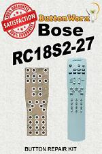 Bose RC18S2-27 **BUTTON REPAIR KIT** Lifestyle System Remote Control