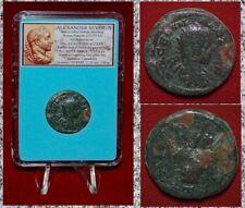 Ancient Roman Empire Coin Of ALEXANDER SEVERUS Grain Ears Cappadocia VERY RARE!