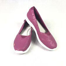 New Women's Ryka Amaze Slip On Shoes - 7M Magenta Memory Foam Insoles - $60