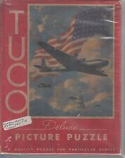 Tuco Puzzle Jigsaw Puzzles--circa 1930's 40's 300 to 500 pcs.Keepem Flying --173