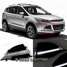 Exact Fit High Power 12-LED Daytime Running Light DRL Fog Lamp Ford Escape 13-16