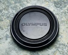 Genuine Olympus OM Black Camera Body Cap Zuiko OM-1 OM-2 OM-3 OM-4 OM-10 (#1406)