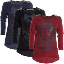 Markenlose Mädchen-Pullover & -Strickware aus Mischgewebe