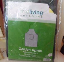 True living Outdoors Water resistant dark green garden apron