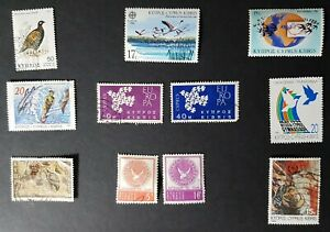 Cyprus: small selection of bird themed stamps
