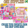 Little Live Bizzy Bubs Cute Crib Doll Gracie Bounces + talks like a real baby