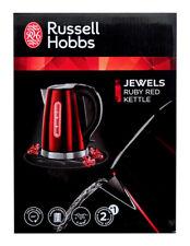 Russel Hobbs 18624-70 Waserkocher Jewels Rubin - Rouge 2400 Watt 1,7 Litre Neuf