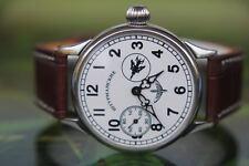 VINTAGE BIG UOMO MECCANICO URSS Aviatore Jurij GAGARIN Watch 17 gioielli