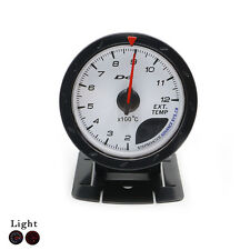 Exhaust Gas Temp Temperature Gauge 60MM EGT Temp Meter EXT Temp Gauge Turbo