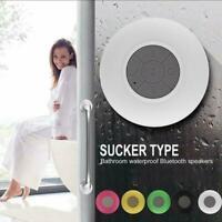 Mini Shower Stereo Speaker Waterproof Bluetooth Wireless Transmission Y0H6