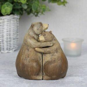 New Modern Bear Couple Ornament, Resin Animal Home Decor, Perfect Gift