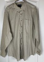 Brooks Brothers 346 Mens Button Down Long Sleeve   Shirt Size