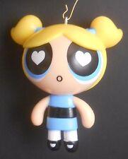 Custom Ornament Made From Cartoon Network Powerpuff Girls Bubbles Love Face Blue