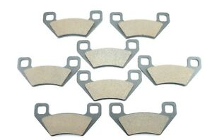 Brake Pads for Arctic Cat 1000 H2 Prowler Xtz Front & Rear Brakes 2009 2010 2011