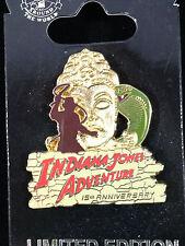 DLR - Indiana Jones Adventure: Temple of the Forbidden Eye 15th Anniversary Pin