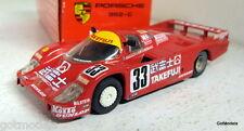 Onyx 1/43 Scale Porsche 962 C Takefuji Le Mans 1988 #33 Gold wheels Diecast car
