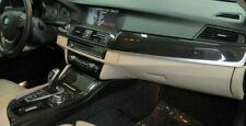 BMW OEM F10 F11 5 Series 2011 + Fine-Line Anthracite wood interior trim set