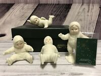 Department 56 Snowbabies All Fall Down 7984-7 Retired Set 4