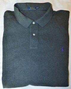 Men's Polo Ralph Lauren SS Mesh Polo Shirt - Big & Tall Size 5XB Big
