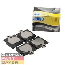 JURID OEM Rear Brake Pad Set Fits Mercedes W202 C230 C280 E300 SLK230 0024207420