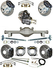 NEW SUSPENSION & WILWOOD BRAKE SET,CURRIE REAR END,POSI-TRAC GEAR,BOOSTER,879311