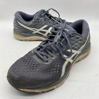 Asics Men Gel Cumulus 21 Running Athletic Grey White Shoes 1011A551 Size 12 Us