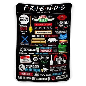 Friends TV Show The Tv Series Fleece Blanket