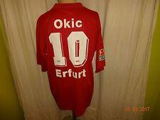 FC Rot Weiss Erfurt Adidas Spieler/ Matchworn Trikot 2004/05 + Nr.10 Okic Gr.XL