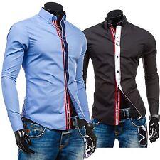 Bolf 5827 Hombre Camiseta para camisa casual Classic Ajustado 2b 2 Informal