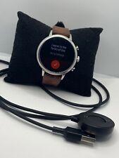 Fossil Gen 4 FTW5014 Women's Brown Leather Digital Dial Genuine Smart Watch JD35