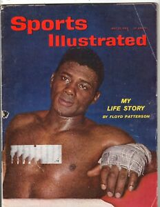 Sports Illustrated 5/28/62, Floyd Patterson Cover, Very Good - Excellent Cond!