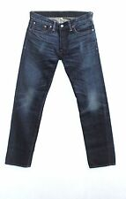 rrl ralph lauren rl low straight, blue, jean, selvedge, denim, s 28 29 32 34