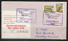 South West Africa Cover Asab Rail Letter Post 13.04.1979