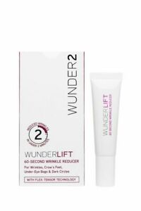 WUNDERLIFT 60 Second Wrinkle Reducer Anti Aging Wrinkle Serum -Wunder2 NewSealed