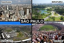 SOUVENIR FRIDGE MAGNET of SAO PAULO