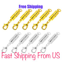 Strong Magnetic Clasp Necklace Converter Extender USA Gold or Silver Plated