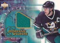 2001-02 Upper Deck Hockey Game JERSEY S2 #SS-PK Paul Kariya Anaheim Ducks