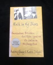 """Book """"Walk In My Shoes"""" by Andrew Young W/ Kabir Sehgal 1st Edition Signed 2010"""