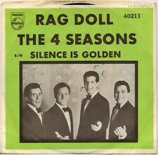 "THE FOUR SEASONS ""RAG DOLL"" POP ROCK 60'S SP PHILIPS 40211"