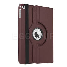 For iPad Air 2 A1566 A1567 Rotating Magnetic Leather Case Smart Cover Stand Gift
