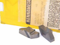 NEW 2PCS. KENNAMETAL NG 6312R GRADE: K6 CARBIDE INSERTS
