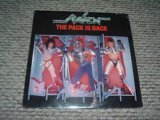 RAVEN The Pack Is Back '86 LP ORIGINAL US 1st press BRITISH HAIR metal SEALED !!