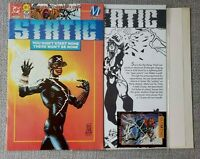 Static #1 Collectors Edition - 1st appearance of Static Shock