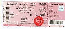 Orig.Ticket     World Cup Qualif..  14.10.2009    SWITZERLAND - ISRAEL  !!