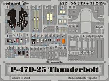 Eduard Zoom ss249 1/72 TAMIYA p-47d-25 Thunderbolt