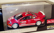 1/18 PEUGEOT 307 WRC TOTAL RALLY MONTE CARLO 2005 M. GRONHOLM