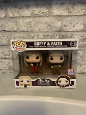 Buffy the Vampire Slayer & Faith 2 Pack 2017 Fall Convention Exclusive Funko Pop