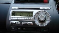 HONDA JAZZ RADIO/ CD PLAYER, GD, 10/02-09/08