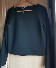 Max Mara stunning sweater/top,cropped,black size L