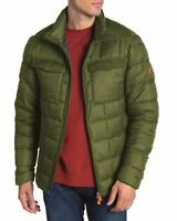 Save The Duck Mens Quilted Funnel Collar Jacket Medium Dusty